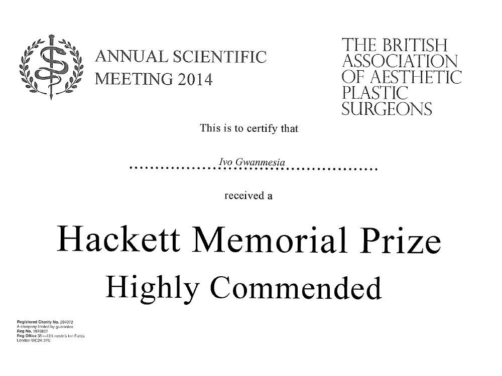 award_BAAPS_2014